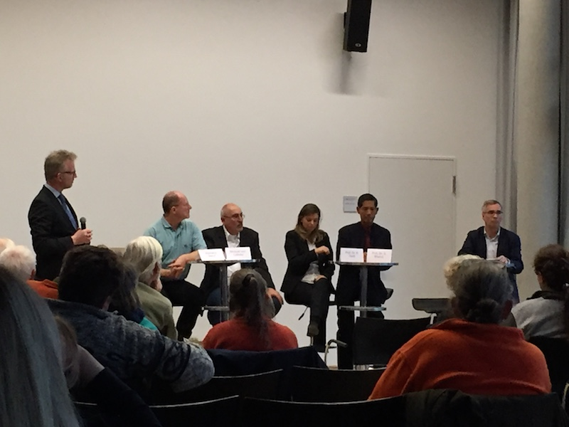 Diskussion H5N8 RGZV Cimbria  Matias Güthe, Klemens Steiof, Michael Lütwitz, Prof. Dr. Reiss, Prof. Dr. Bhakdi, Dirk Büge